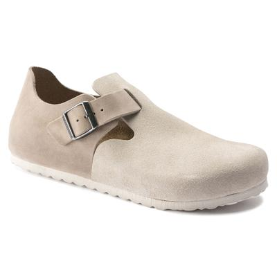 BIRKENSTOCK London Oiled Leather/Suede Leather Sandcastle Low Shoes