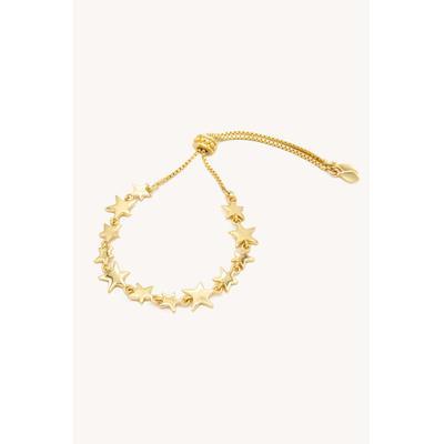 Scattered Stars Adjustable Charm Bracelet