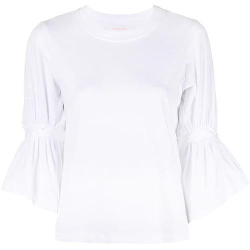 See By Chloé T-Shirt mit geflochtenem Detail