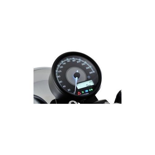 Daytona Velona80 Tachometer 260 km/h schwarz