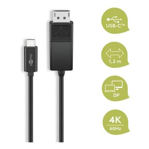USB-C auf DisplayPort Kabel, goobay