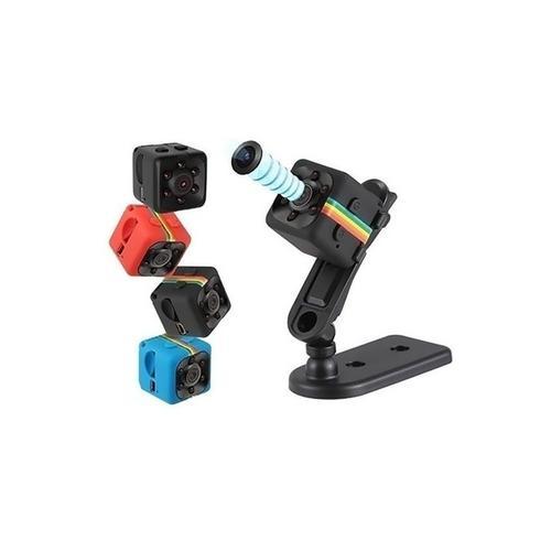 1x Mini-Überwachungskamera mit Infrarot-Nachtsicht: Schwarz
