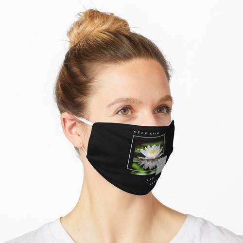 Lotus Seide Lotus Seide Blumen Maske