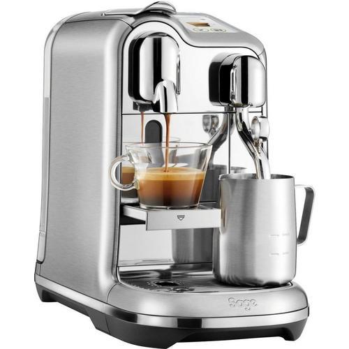 Nespresso Kapselmaschine Creatista Pro SNE900, mit Nespresso Starter Kit