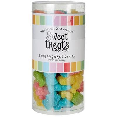 The Hampton Candy Company Neon Sugared Bears