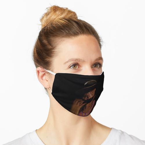 Geräucherte Eiche Maske