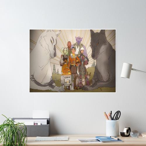 Gespenster Wandbild voll Poster