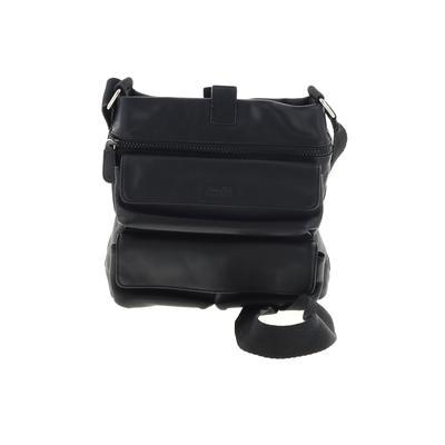 Franchi - Franchi Crossbody Bag: Black Solid Bags