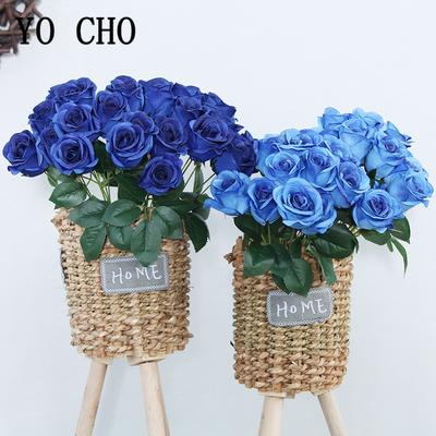 Bouquet de Roses en soie, 12/lot...