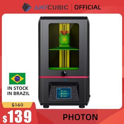 ANYCUBIC Photon SLA – imprimante 3D, résine UV 2K LCD, impression hors ligne, Kit Impresora drucker