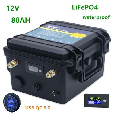 Pack de batterie Lifepo4 12v 80a...