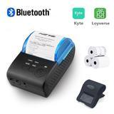 Mini imprimante Bluetooth Portab...