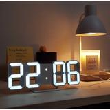 Horloge murale numérique LED, al...