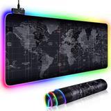 Grand tapis de souris RGB carte ...