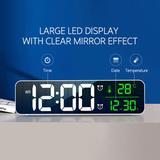 LED numérique réveil montre pour...