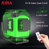 KIRA – niveau Laser 4D vert 16 l...