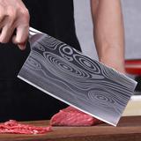 Couteau de cuisine Sanhe en acie...
