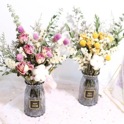 Bouquet de fleurs Gypsophila séc...