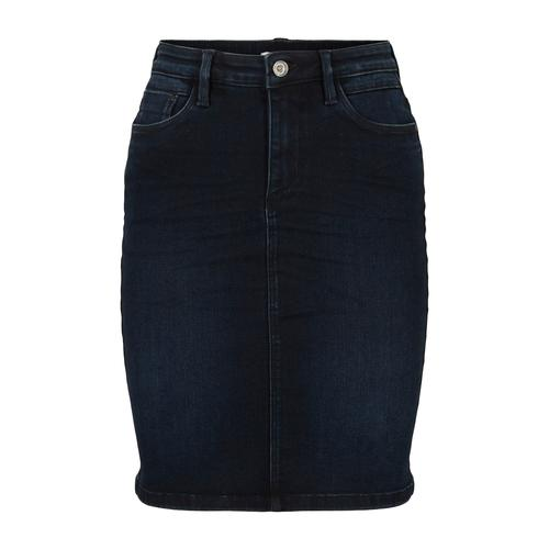 TOM TAILOR Damen Jeansrock, blau, Gr.38