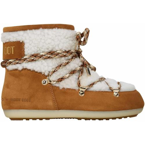 Moon Boot Shearling Low
