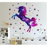 Autocollant Mural licorne, décor...
