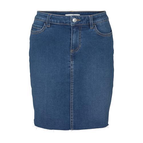 TOM TAILOR DENIM Damen Mini Jeansrock, blau, Gr.XS