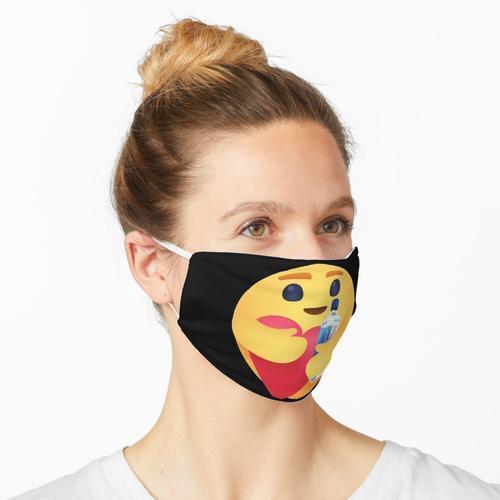 Pflege Emoji Hug Fidschi Wasserdampfwelle Maske
