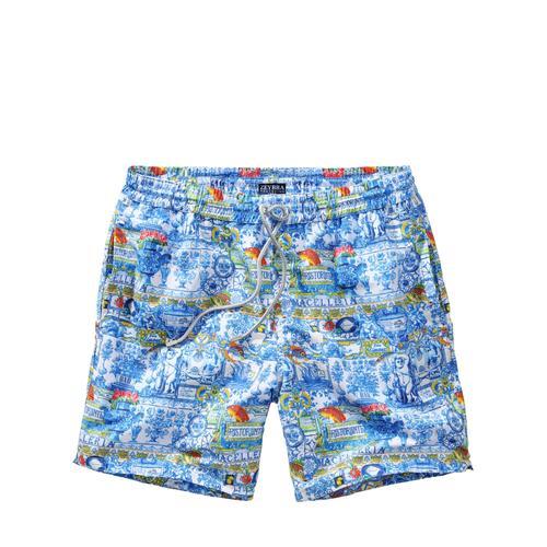 Mey & Edlich Herren Shorts Keramik-Badeshorts blau 46, 48, 50, 52, 54, 56
