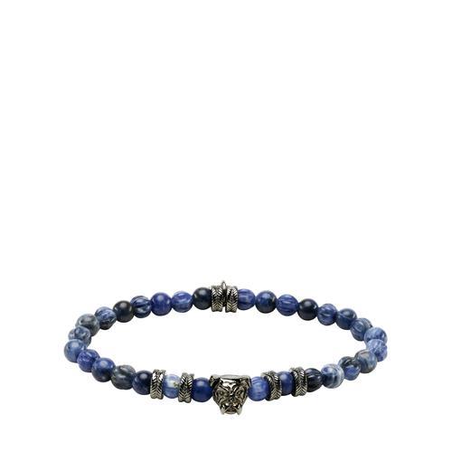 Mey & Edlich Herren Blaustein-Armband blau