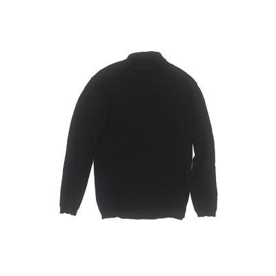 Zara Knitwear Turtleneck Sweater: Blue Tops - Size 7