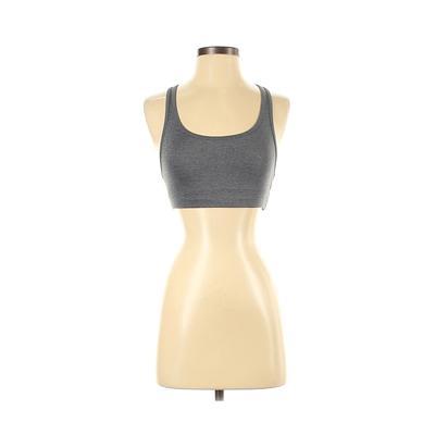 Sports Bra: Gray Activewear - Size Small
