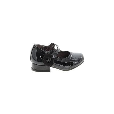 143 Girl Dress Shoes: Black Solid Shoes - Size 5