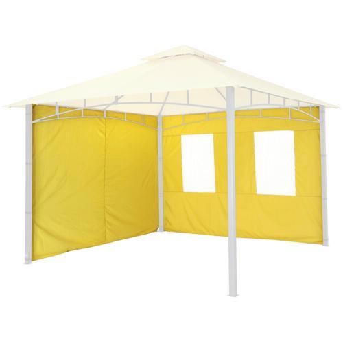Tepro Pavillonseitenteile, für Serie Lehua und Waya gelb Pavillons Garten Balkon Pavillonseitenteile