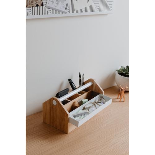 Umbra Aufbewahrungsbox, (1 St.) beige Kleideraufbewahrung Aufbewahrung Ordnung Wohnaccessoires Aufbewahrungsbox