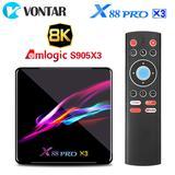 Boîtier Smart TV X88 PRO X3, And...
