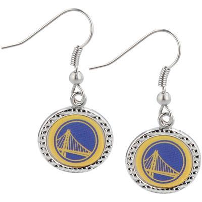 """Women's WinCraft Golden State Warriors Team Round Dangle Earrings"""