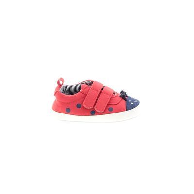 Carter's Booties: Red Solid Shoe...