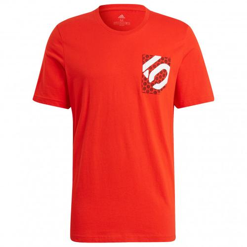 Five Ten - Brand Of The Brave Tee - T-Shirt Gr M rot