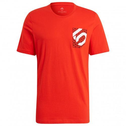 Five Ten - Brand Of The Brave Tee - T-Shirt Gr XL rot