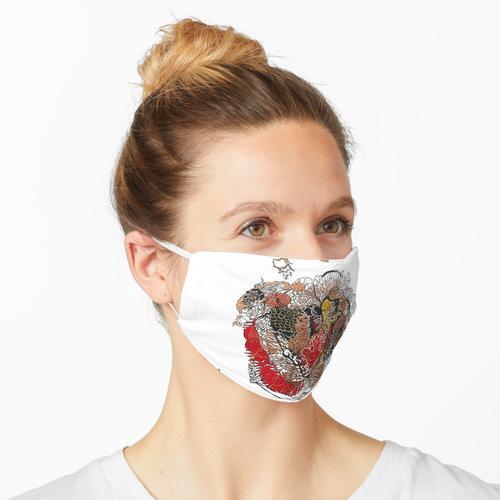 Att für mewithoutyou Album Untitled Maske