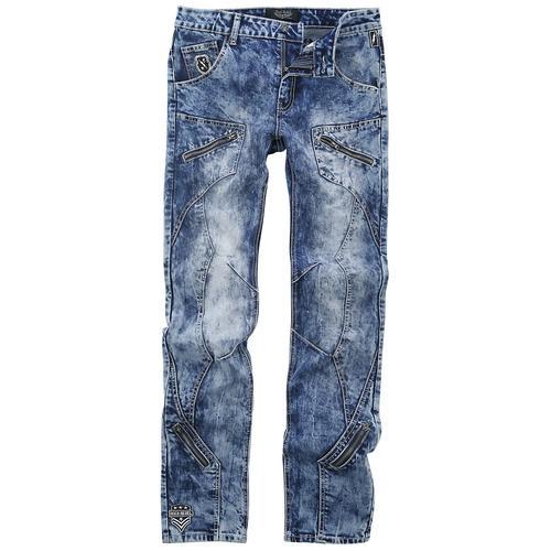 Rock Rebel by EMP Jared - Blaue Jeans mit starker Waschung Herren-Jeans - blau