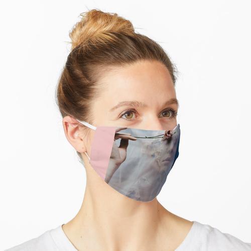 Transparentes Tuch Maske