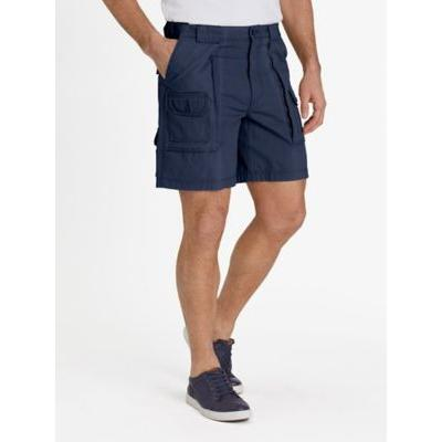 Men's Adjust-A-Band Relaxed-Fit Cargo Shorts, Navy Blue 44
