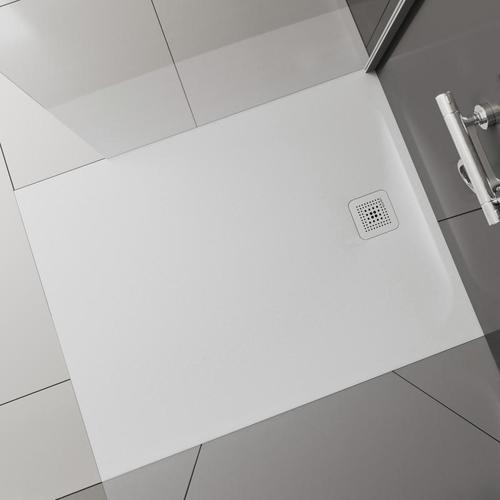 Laufen Pro Rechteck-Duschwanne L: 110 B: 90 H: 3,3 cm weiß matt H2129550000001