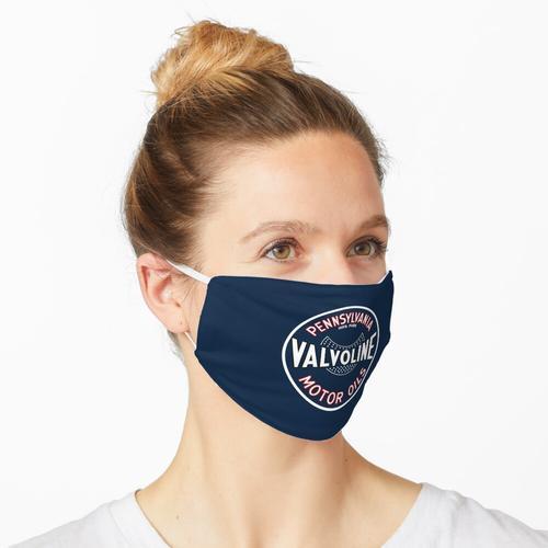 Valvoline Motoröle (blau) Maske