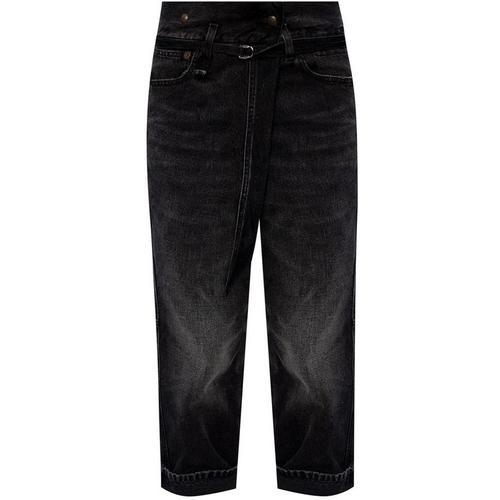 R13 Dropped crotch jeans