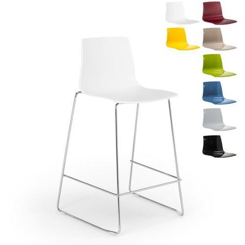 Design Hocker Bar Küche 86cm Design Mini Imola | Weiß - Grand Soleil