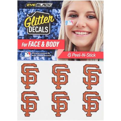 San Francisco Giants 6-Pack Glitter Decals