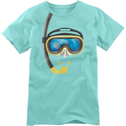 T-Shirt Hologramm, türkis, Gr. 176/182