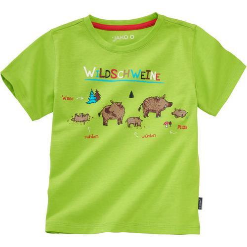 T-Shirt Lerneffekt, grün, Gr. 80/86